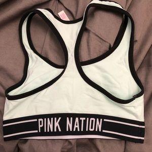 "91c4675b5b18a PINK Victoria s Secret Intimates   Sleepwear - PINK ""Aloha Beaches"" Sports  Bra"